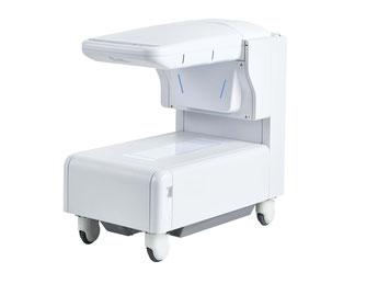 エメラルド整形外科疼痛クリニックは骨密度測定器で骨粗鬆症の評価をしています
