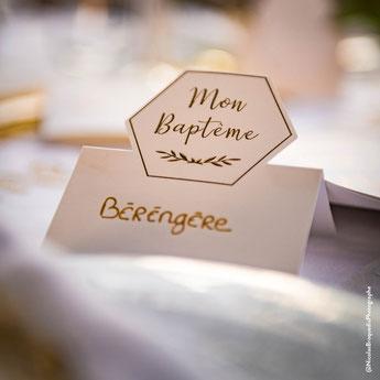 deco de table baptême - baptism party decoration