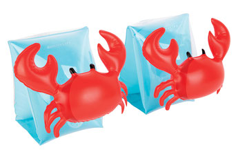 brassards enfant crabe - bouée enfant crabe - crabby inflatable for kids