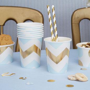 anniversaire-enfant-theme-bleu-et-or-decoration-table-anniversaire