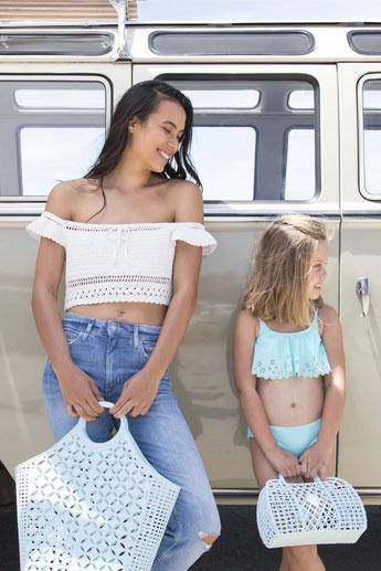 paniers retro accessoires plage - retros basket beach accessories