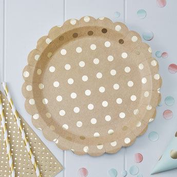 DECO BABY SHOWER FILLE THEME BOHEME KRAFT ET OR LES BAMBETISES