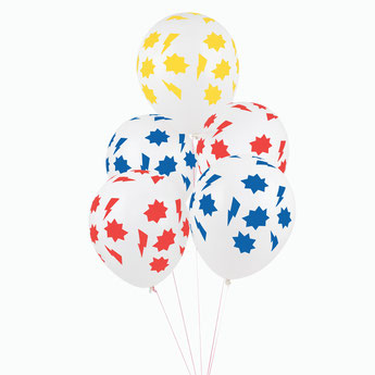 BALLONS POUR DECO ANNIVERSAIRE SUPER HEROS- SUPERHERO BALLOONS PARTY DECORATION