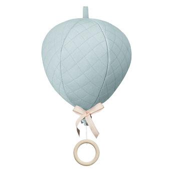 mobile montgolfiere decoration chambre bebe cadeau naissance