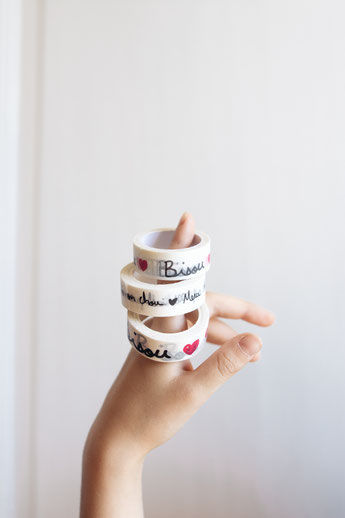 MASKING TAPE BISOU MATHILDE CABANAS- MASKING TAPE DESIGN INTERIOR