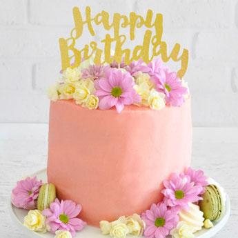 deco anniversaire 1 an thème fleurs liberty - boho party decoration