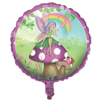 DECORATION ANNIVERSAIRE FEE BALLON METALLIQUE- FAIRY PARTY BALLOON