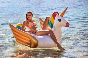 BOUEE GEANTE LICORNE SUNNYLIFE ETE 2018- UNICORN INFLATABLE SUNNYLIFE SUMMER 2018