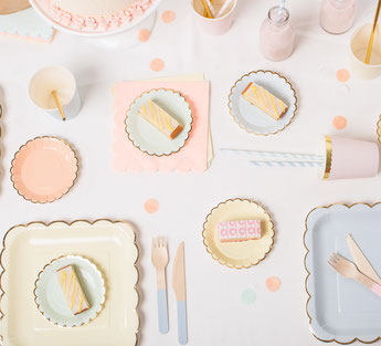 DECORATION ANNIVERSAIRE FILLE THEME PASTEL