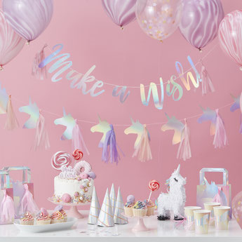 deco anniversaire licorne- unicorn party decoration