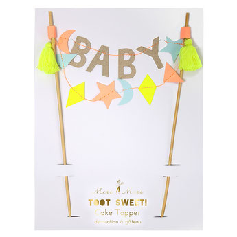 DECO GATEAU BABY SHOWER ANNIVERSAIRE- BABY SHOWER BIRTHDAY DECORATION