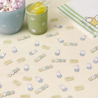 deco anniversaire garçon theme lapin miffy- miffy bunny decoration