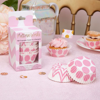 kit cupcaakes baby shower fille - déco gateau baby shower