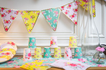 THEME LIBERTY DECO BABY SHOWER BAPTEME ANNIVERSAIRE- LIBERTY PARTY DECORATION