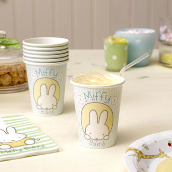 DECORATION BABY SHOWER MIFFY - MIFFY BABY SHOWPER PARTY DECORATION