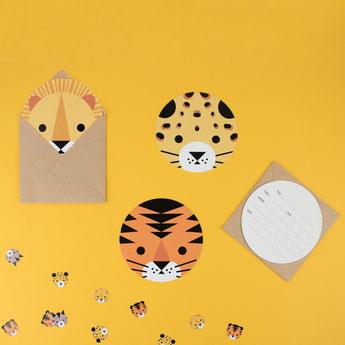 papeterie-invitations-anniversaire-pochettes-cadeaux-anniversaire-invitations-jungle