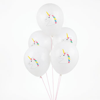deco fete anniversaire licorne - unicorn party decoration