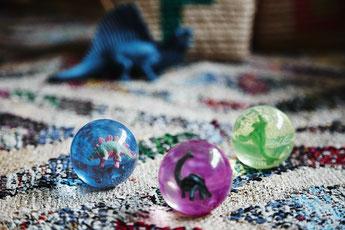 BALLES BONDISSANTES DINOSAURES- PETITS CADEAUX INVITES