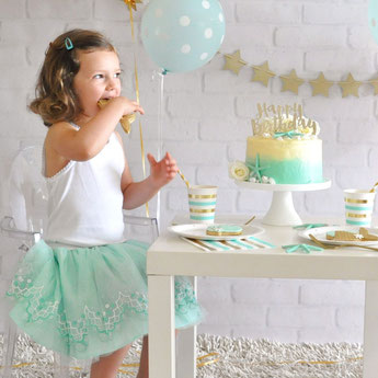 anniversaire-fille-theme-sirene-deco-de-table-sirene