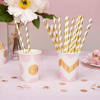 theme-bapteme-fille-rose-pastel-or-decoration