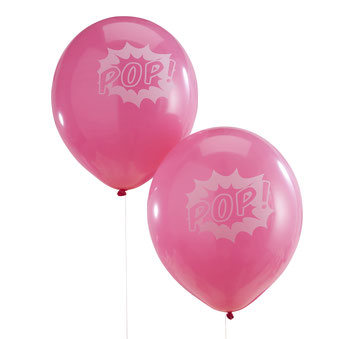 BALLONS ANNIVERSAIRE SUPER HEROS FILLE- SUPERHERO PARTY GIRL BALLOONS