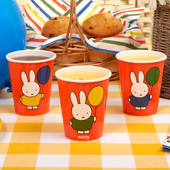 decoration premier anniversaire, anniversaire fille ou garçon miffy- miffy party decoration