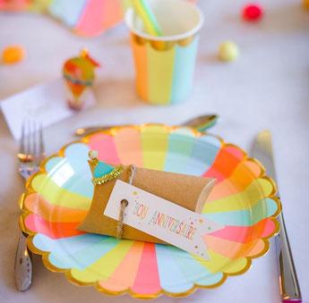 deco anniversaire garçon 1 an theme multicolore