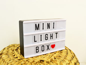 MINI LIGHTBOX MAGNETIQUE- DECO DESIGN