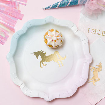 THEME BAPTÊME LICORNE- UNICORN BAPTISM DECORATION