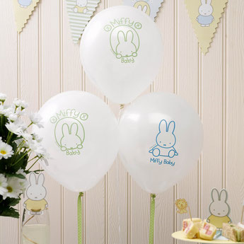 anniversaire-enfant-theme-lapin-miffy-ballons-lapins-miffy