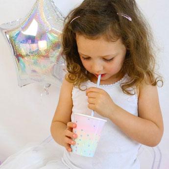 deco baby shower bapteme anniversaire irisé pastel licorne, sirène- unicorn or mermaid pastel party decoration