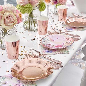 anniversaire-adulte-theme-rose-gold