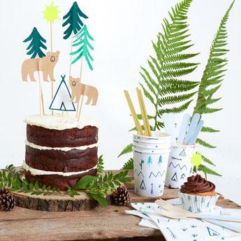 Décoration gateau anniversaire garçon- cake decoration boy party