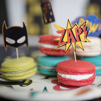 DECO ANNIVERSAIRE ADULTE SUPER HEROS- SUPERHERO PARTY FOR ADULT
