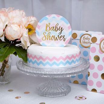 deco baby shower fille ou garçon- gender reveal party