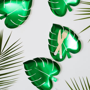 DECO ENTERREMENT DE VIE DE JEUNE FILLE THEME TROPICAL- TROPICAL BACHELOR PARTY DECORATION