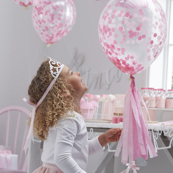 DECORATION ANNIVERSAIRE FILLE THEME PRINCESSE- PRINCESS GIRL BIRTHDAY PARTY DECORATION