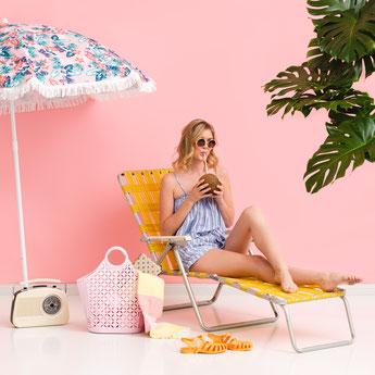 paniers retros, accessoires plage femme enfant- retros baskets, beach accessories