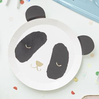anniversaire-4-ans-theme-blanc-noir-argent