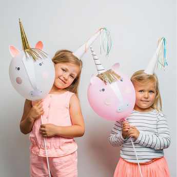 BALLONS LICORNE DECO ANNIVERSAIRE LICORNE - UNICORN BALLOON PARTY DECORATION