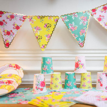 DECO BABY SHOWER LIBERTY- LIBERTY BABY SHOWER PARTY DECORATION