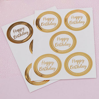 STICKERS DECO ANNIVERSAIRE ENFANT- STICKERS PARTY DECORATION