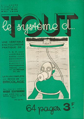 Lancé en avril 1924 sous le titre Système D, journal illustré du débrouillard, et contenant essentiellement des illustrations dessinées, le magazine est revendu à Ventillard en 1933 ; le titre devient ensuite Tout le Système D.