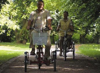 Dreiräder für Senioren