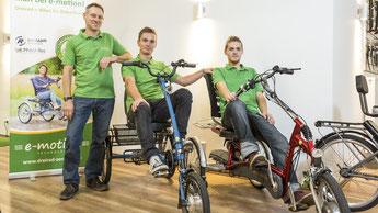 Unsere Dreirad-Händler