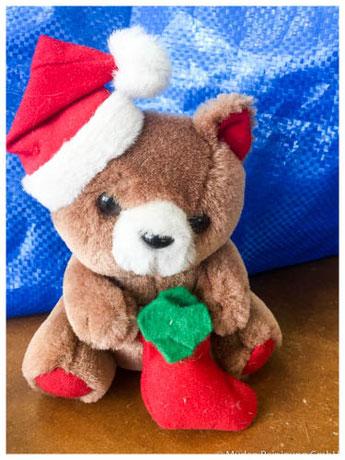 kuscheliger Spendenaktion, Weihnachtsteddy Saarbasar
