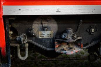 Clarion CC520 Rückfahrkamera am fahrtzeugheck des MAN als Einparkhilfe