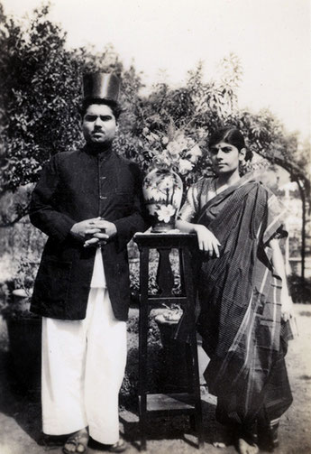 Eruch Jessawala and his sister Meheru Jessawala, 1935. Courtesy of the Jessawala Collection - AMB Archives, Meherabad, India.