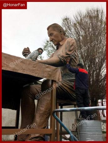 ساخت المانهای شهری و مجسمه سازی ،مجسمه بزرگ غول پیکر  غول آسا مجسمه های بزرگ شهری