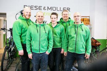 Das Team des Lastenfahrrad-Zentrums Köln